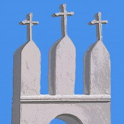 OG Detalle de Iglesia en Ibiza- Ibiza Church Detail